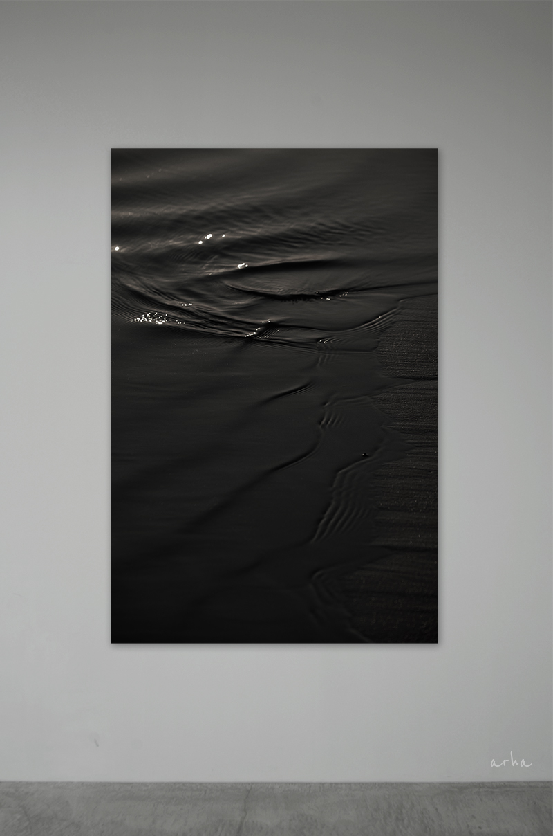 The-surface-of-black-water