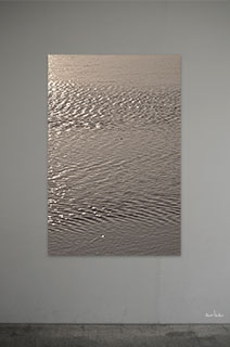 The-surface-of-bronze-gold-water-s